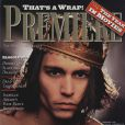 Février 1995 : le beau Johnny Depp prend la pose pour le magazine Premiere.