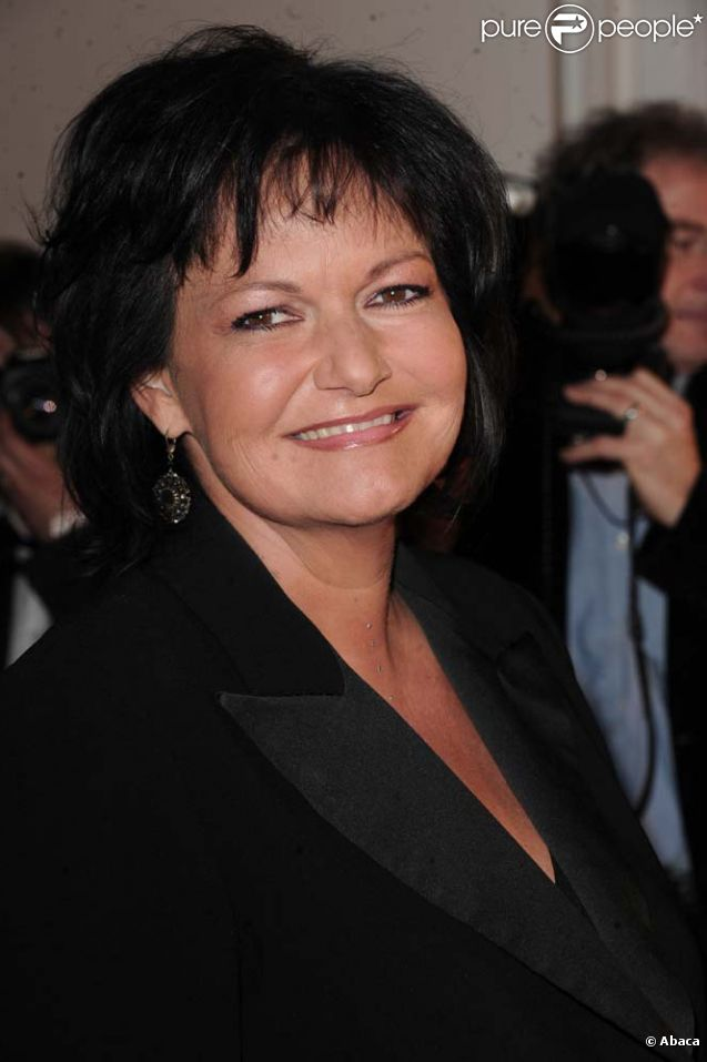 Maurane aux Victoires de la musique, à Paris, le 1er mars 2011.