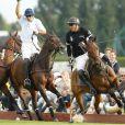 La Deauville Polo Cup qui s'est déroulée à Deauville du 30 juillet au 28  août. Ici, lors de la Coupe d'or, le 28 août 2011
