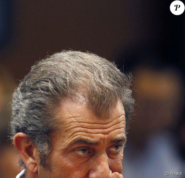 Mel Gibson au tribunal de Los Angeles, le 11 mars 2011.