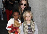 Angelina Jolie : Après-midi shopping entre filles avec Zahara et Shiloh