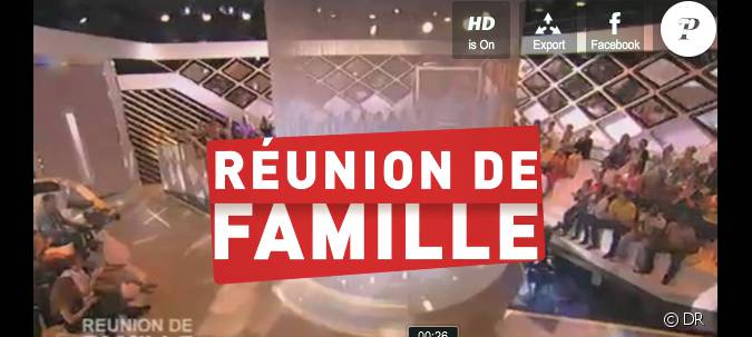le g n rique de r union de famille sur france 2 pr sent e par jean luc delarue. Black Bedroom Furniture Sets. Home Design Ideas