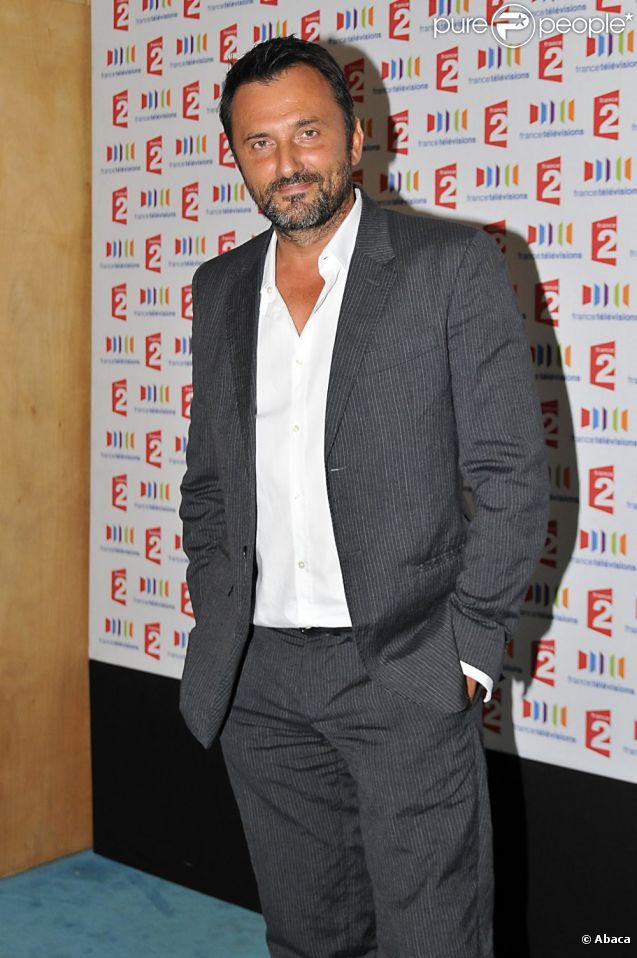 Frédéric Lopez à la conférence de rentrée de France Télévisions 2011