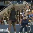 Serena Williams avait déjà été condamnée par le passé à une amende pour avoir menacé une arbitre lors de la demi-finale de l'US Open 2009 face à Kim Clijsters