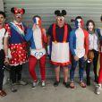 Masque de Mickey, maquillage bleu-blanc-rouge, les Français se sont montrés bien plus efficaces en tribunes que sur le terrain !