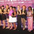 19e cérémonie des Femmes en or, le 17 septembre 2011, à Nice.