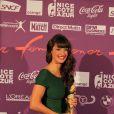 Charlotte Le Bon lors de la 19e cérémonie des Femmes en or, le 17 septembre 2011, à Nice.