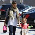 Jessica Alba et sa fille Honor à Beverly Hills le 19 septembre 2011