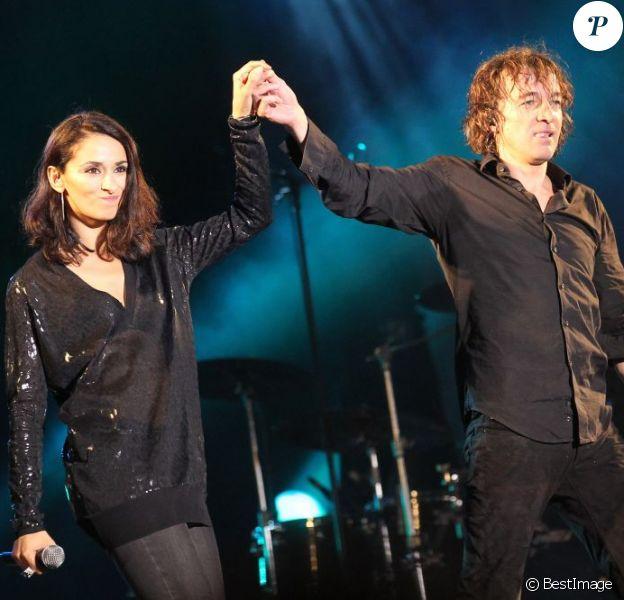 Cali et Rachida Brakni au festival Muzik Elles à Meaux le 25 septembre 2011