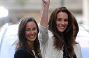 Kate et Pippa Middleton, stars de mariage, rivalisent d'élégance