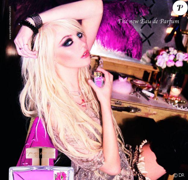 Taylor Momsen égérie de Parlez-moi d'amour, Eau de Parfum, de John Galliano