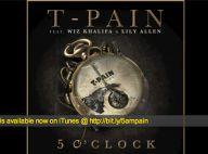 Lily Allen : Un retour en musique, avec les rappeurs T-Pain et Wiz Khalifa