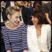 Fashion Week: Pauline Lefèvre, Florence Foresti fans de mode colorée chez Rykiel