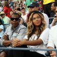 Beyoncé et Jay-Z au Grand Chelem à New York en septembre 2011