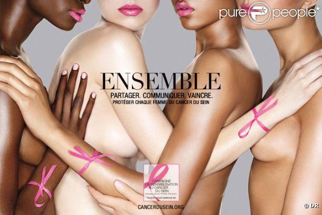 """Campagne 2011 de l'assocaition """"Le Cancer du Sein, Parlons-en !""""."""
