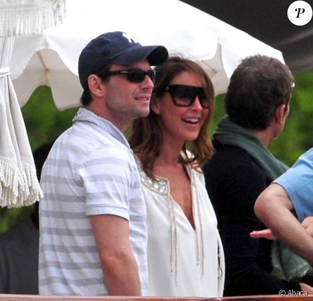 Christian Slater et Tamara Mellon