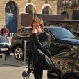 Paul McCartney prenant la pose, le 3 octobre 2011 à l'Opéra Garnier à Paris