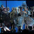 Première de la comédie musicale Dracula, L'Amour plus fort que la Mort, au Palais des Sports à Paris le 1er et 2 octobre 2011