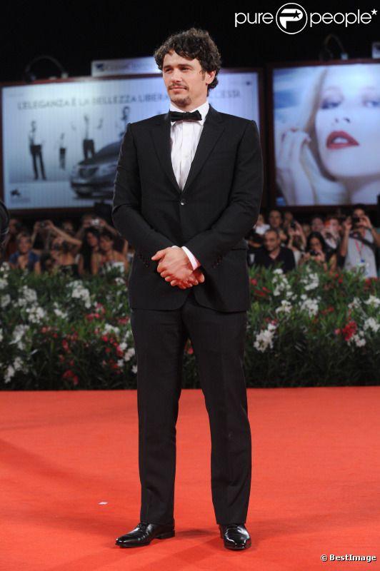 James Franco lors de la Mostra de Venise - septembre 2011