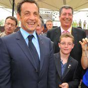 Louis Sarkozy, 14 ans, a quitté le cocon familial