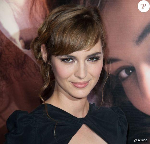 Louise Bourgoin, ici à Paris le 27 septembre 2011 pour l'avant-première d'Un heureux évènement, sera à l'affiche de La Religieuse, avec Isabelle Huppert face à elle.