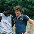 Omar Sy dans le film Nos jours heureux avec Jean-Paul Rouve