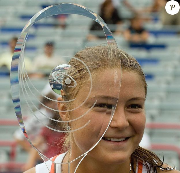 Dinara Safina, le 1er septembre 2009 à New York lors de l'US Open