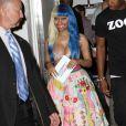 Nicki Minaj annonce les nominations des 39e American Music Awards à Los Angeles, le 12 octobre 2011.