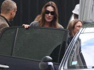 Carla Bruni : Toujours enceinte, elle s'offre une virée shopping parisienne !