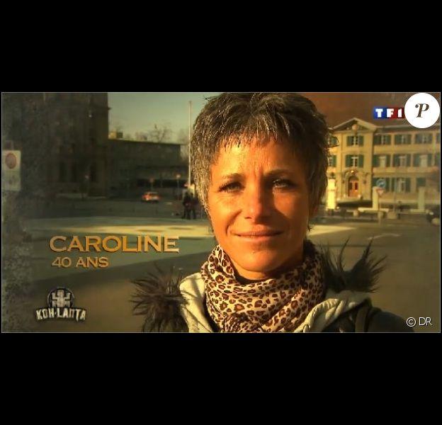Caroline, candidate de Koh Lanta Raja Ampat, sur TF1.