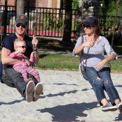 Eric Dane et Rebecca Gayheart : Ça balance pour les amoureux et leur fille