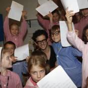 Michaël Gregorio, Grégoire et la mythique Nellie Oleson retournent à l'école