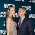 George Clooney et sa Stacy : Regards complices et gestes tendres sous les flashs