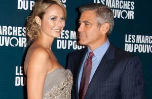 George Clooney et sa Stacy : Regards complices et gestes tendres sous les flashs