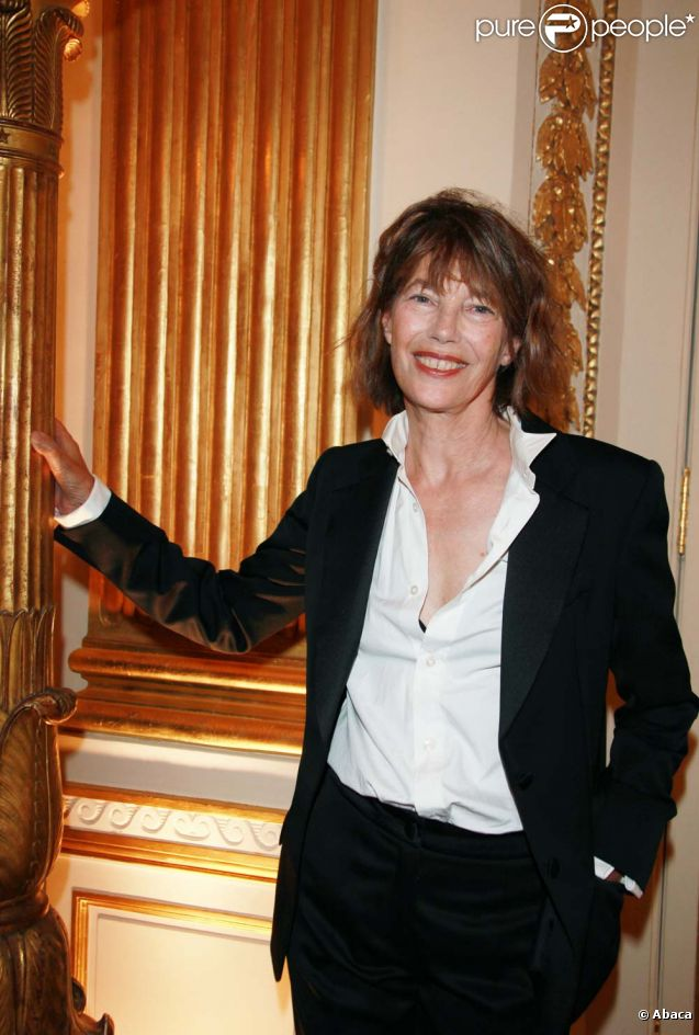 Jane Birkin, à Paris, le 5 octobre 2011.