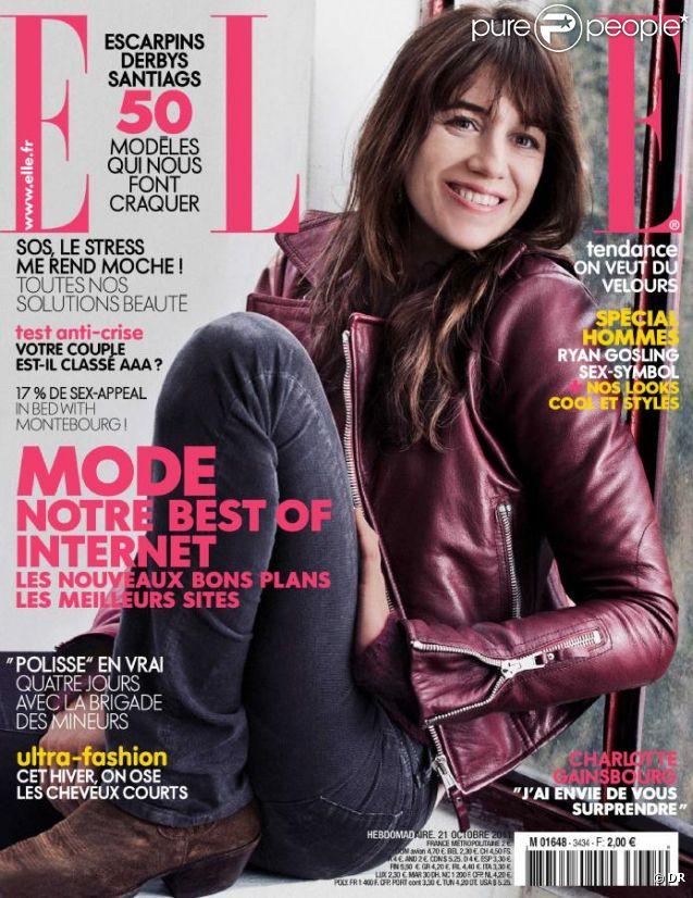 La couverture du magazine Elle du 21 octobre 2011