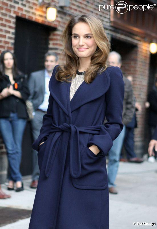 Natalie Portman à New York en novembre 2010