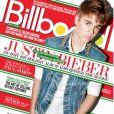 Justin Bieber en couverture du magazine  Billboard .