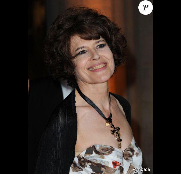 Fanny Ardant, à Paris, le 14 juin 2011.