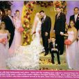 Christina Aguilera pose pour son mariage