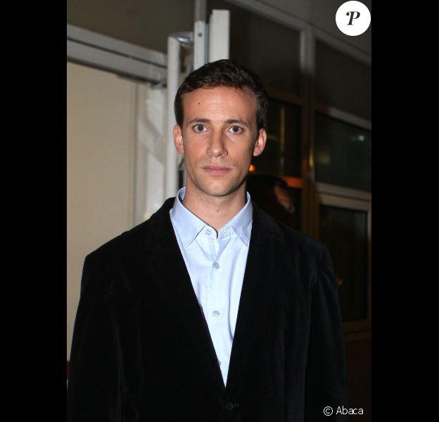 Laurent de Villiers, fils de Philippe de Villiers, après son intervention au Grand Journal de Canal+ le 2 novembre 2011 à Paris