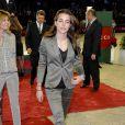 Charlotte Casiraghi lors du Gucci Masters 2010. En 2011, l'épreuve 'Style et compétition' qu'elle a créée accueillera notamment Jessica Springsteen, fille de Bruce.