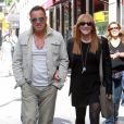 Bruce Springsteen et sa femme Patti à New York le 19 septembre 2011