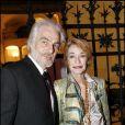 Loulou de la Falaise et son mari Thadée Klossowski de Rola en 2007 à Paris