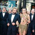 Luc Besson et Milla Jovovich le 7 mai 1997 à Cannes.