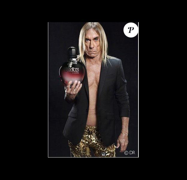 Le chanteur Iggy Pop est le nouveau visage du parfum Black XS de Paco Rabanne.