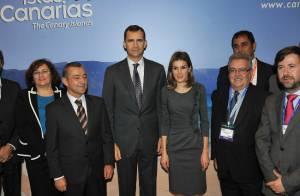 Letizia et Felipe d'Espagne : Elégant et appliqué, le couple séduit Londres