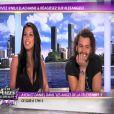 Ayem et Daniel de Secret Story 5 sur le plateau des Anges de la télé - Le Mag en octobre 2011
