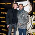 Henri et Maxime Leconte à la présentation de Rhum Express, de Bruce Robinson, le 8 novembre 2011.