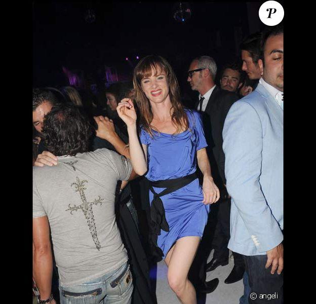 Juliette Lewis déchaînée à la soirée de P. Diddy au VIP Room